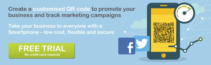 Create customised QR code to promote your business